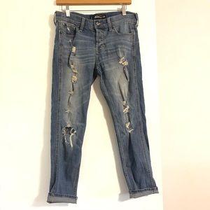 Hollister Distressed Vintage Boyfriend Jeans